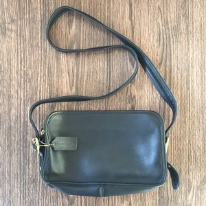 Vintage Coach Legacy Crossbody Black Leather Bag